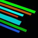 Nastro adesivo Fotoluminescente fosforescente si illumina al buio