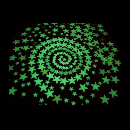 Stelle fluorescenti adesive
