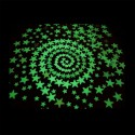 Fluorescents phosphorescents glow in the dark stars stickers