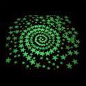 Stelle fluorescenti fosforescenti adesive che si illuminano al buio