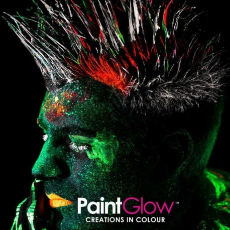 Vernice UV fluorescente per capelli in 7 colori da 20ml