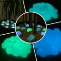 Pietre in vetro che si illuminano al buio fosforescenti