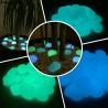 Pietre piatte che si illuminano al buio in vetro fosforescenti prodotto professionale per sentieri passaggi e giardini