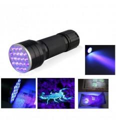 Torcia UV - Lampada di Wood a led portatile e impermeabile