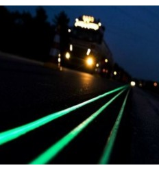 Vernice professionale mono componente a solvente per segnaletica fotoluminescente