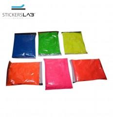 Pigmento additivo polvere fluorescente luminescente che si illumina al buio
