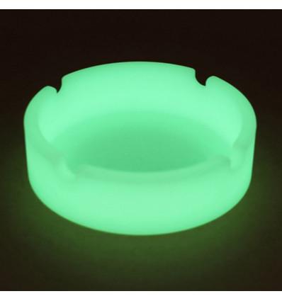 Posacenere fluorescente fosforescente in silicone che si illumina al buio